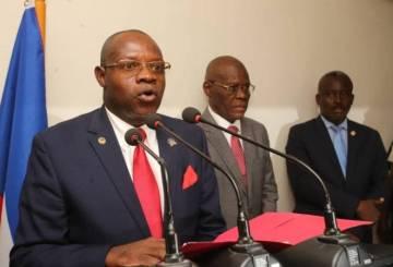 """Haïti: """"Rétablir la paix et la sécurité"""", la principale mission du nouveau Ministre de la Justice et de la Sécurité Publique 1"""