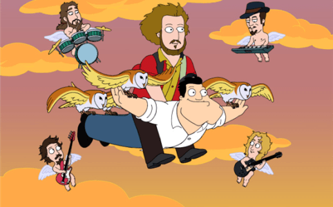 my morning jacket american dad le melting potes