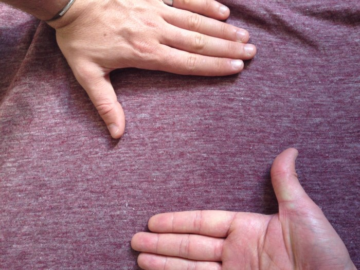 tee shirt en lin monoprix couleur raisin