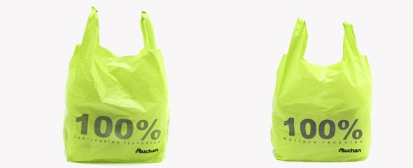 auchan sac recyclable