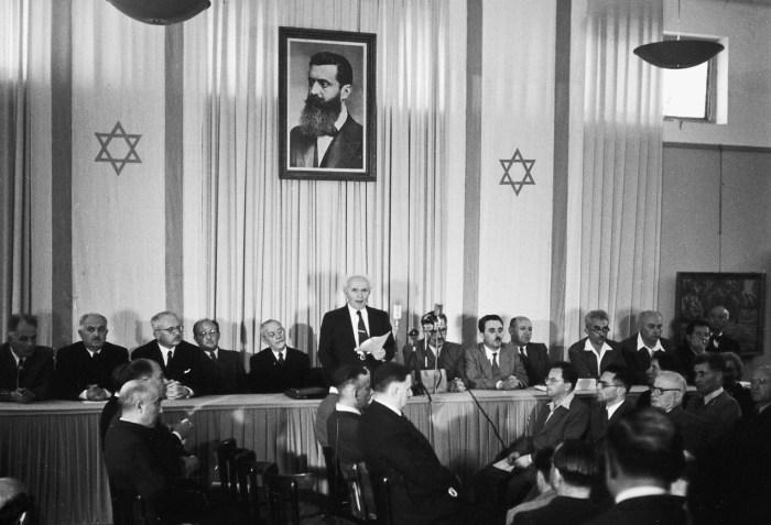 proclamation etat juif