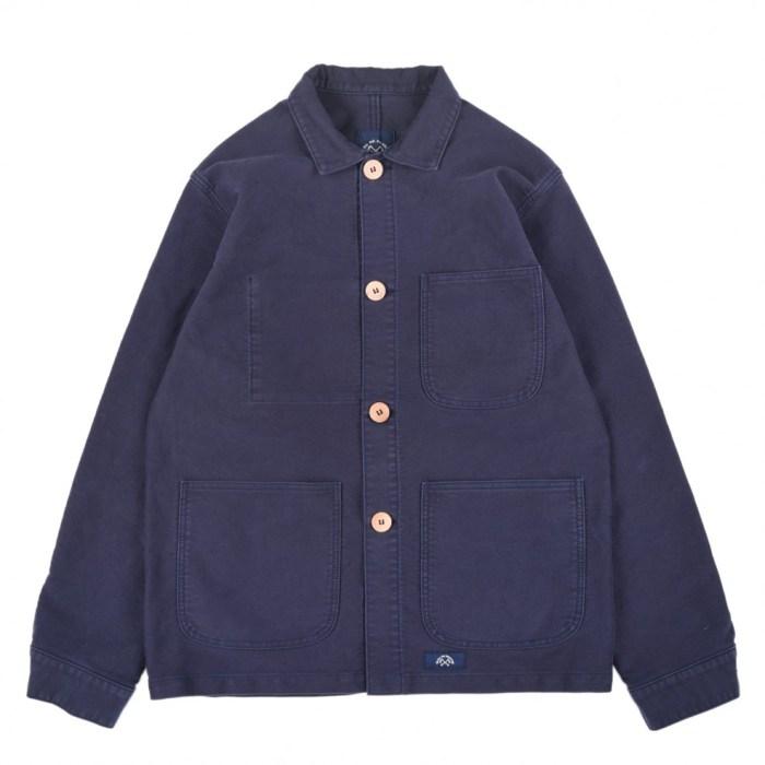veste de comptoir bleu de paname