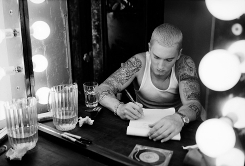 eminem-writing-text-rap