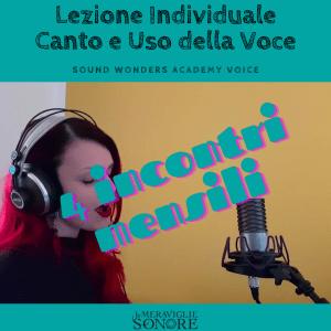 lezioni di canto individuali