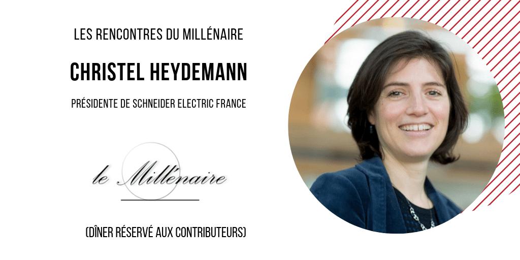 Le Millénaire rencontre Christel Heydemann