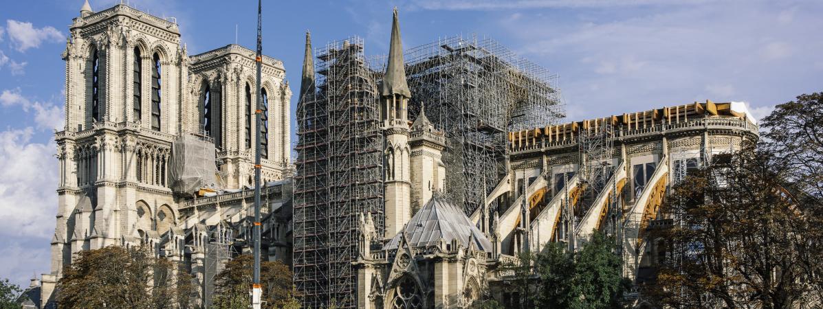 Notre-Dame de Paris, un an après, péril imminent du patrimoine bâti