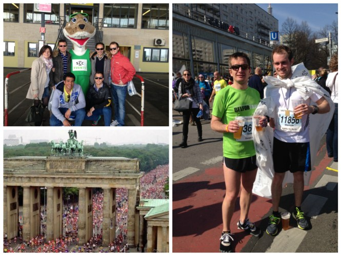 Eduardo semi marathon Berlin