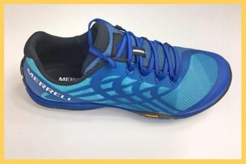 Chaussure minimaliste Merrell Trail Glove 4 bleue