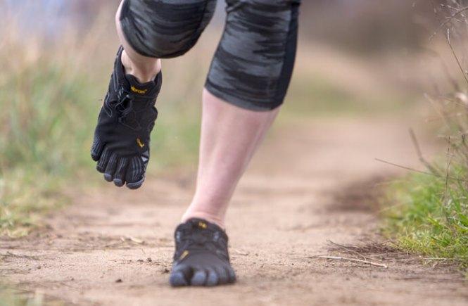 Fivefingers course a pieds