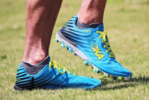 Chaussures course naturelle Hoka Evo Jawz