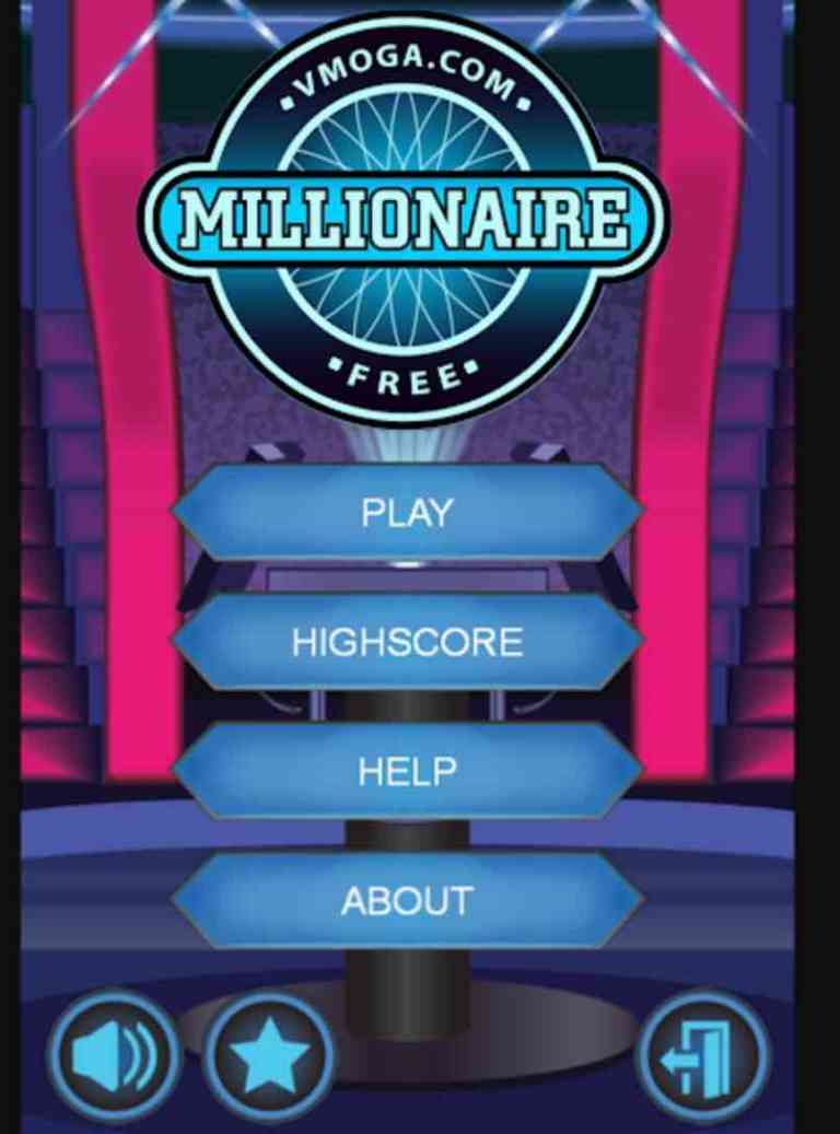 Millionaire- Who want to be