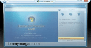 how to create an offline games for windows live account