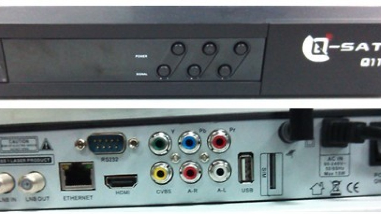 Qsat 2013 GPRS DST* satellite receiver [The Good, The Bad & The Ugly •