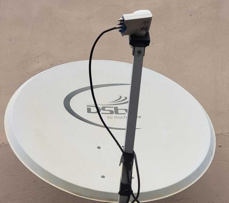 90 centimeter dish antenna