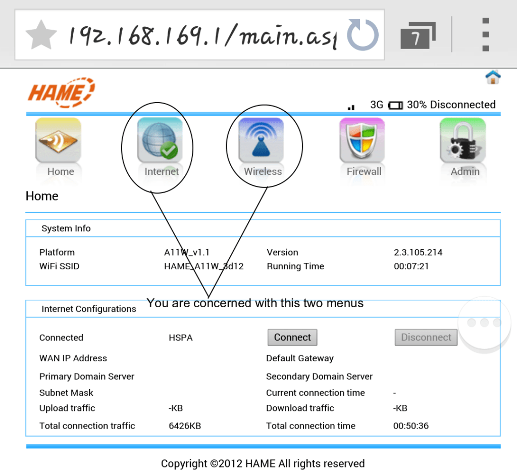 Hame's_user_interface