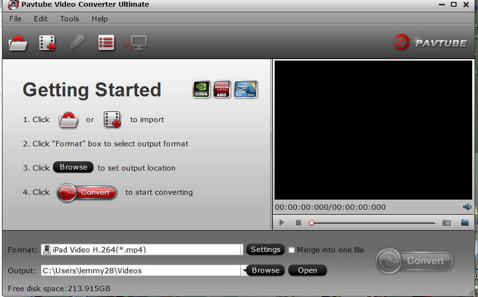 How to Record, Convert and Play .ts, tsv and .ps PVR/DVR Video Files Easily
