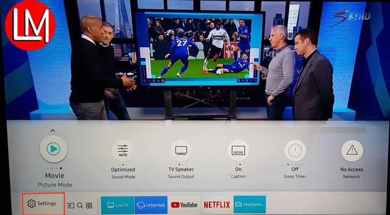 Samsung UHD_4K TV Picture Mode Setup