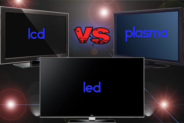 comparison between a plasma lcd led oled and qled televisions. Black Bedroom Furniture Sets. Home Design Ideas