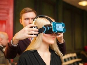 VR-helmet from Fibrum