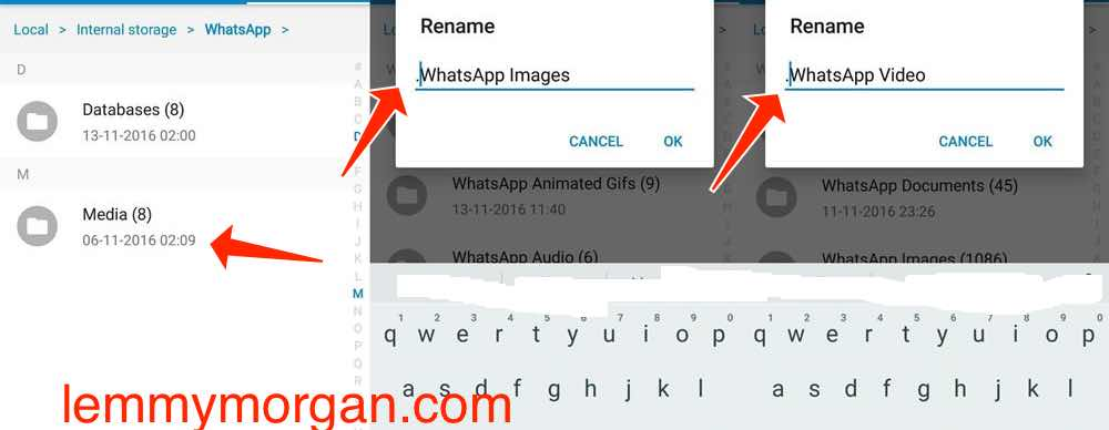 how to hide whatsapp media from gallery
