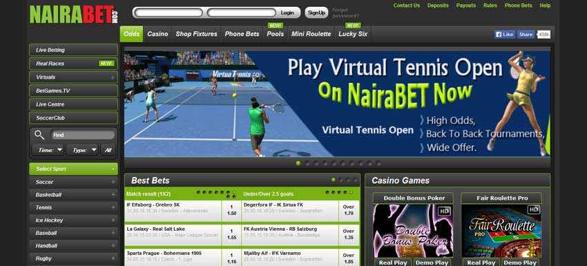 Betting platforms frequencies for all Nigerian betting platforms