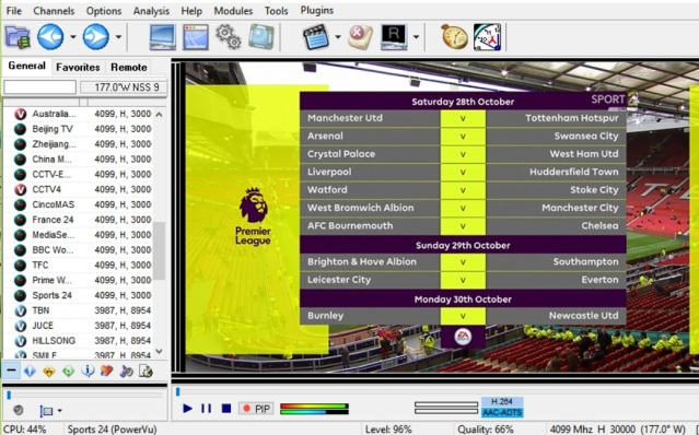 PowerVuEmu 2 7 opens sports 24 HD now via emulator on dvb cards