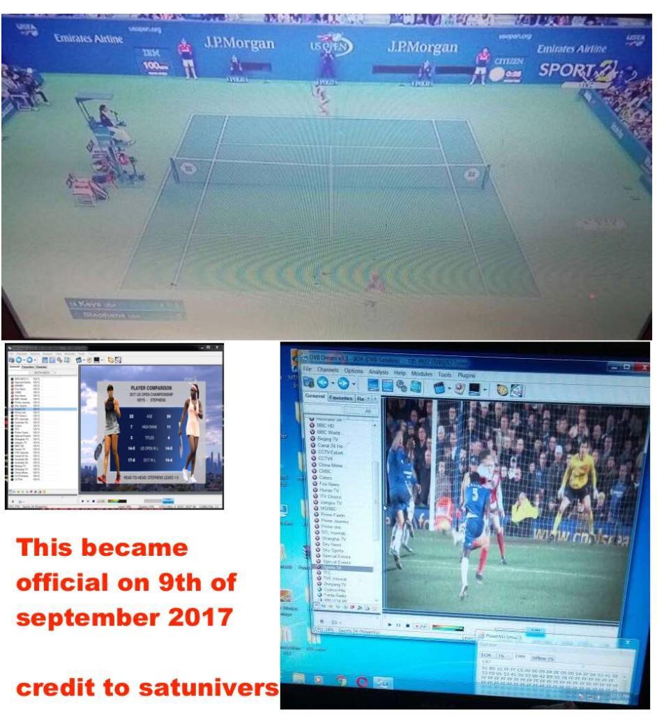 Sports 24 HD back via powervu emulator