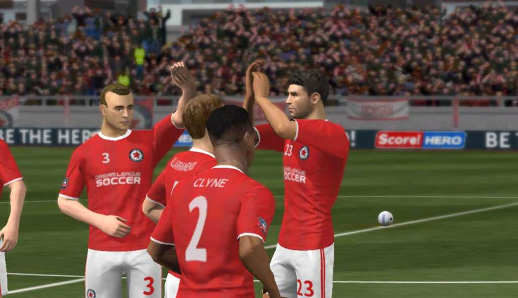 dream league soccer goal celebration