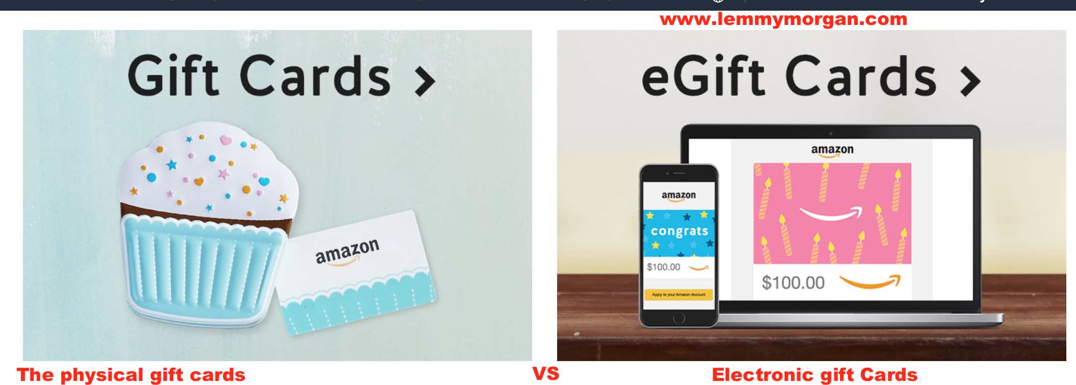 Amazon.com Gift Cards: Uses, benefits,limitations and where to buy