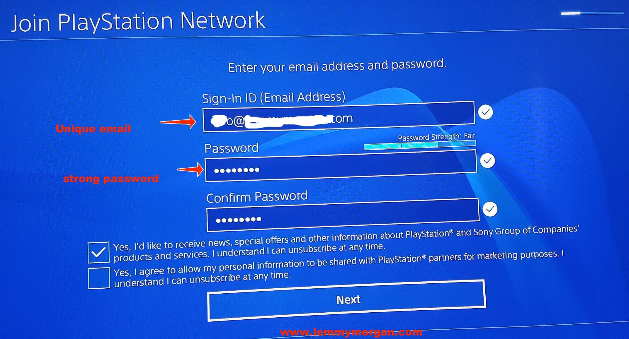 Playstation network account abroad: Own a USA PSN Acc