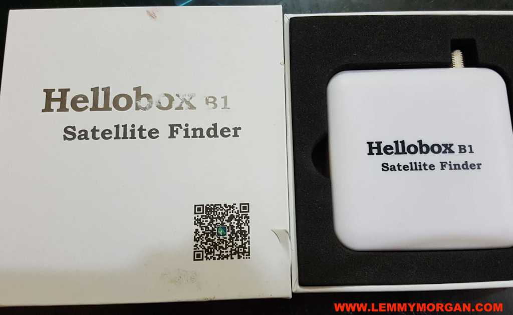 hellobox B1 bluetooth satellite finder