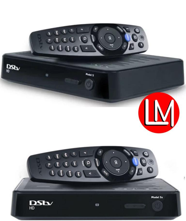 DStv single view 5s and 5u decoders