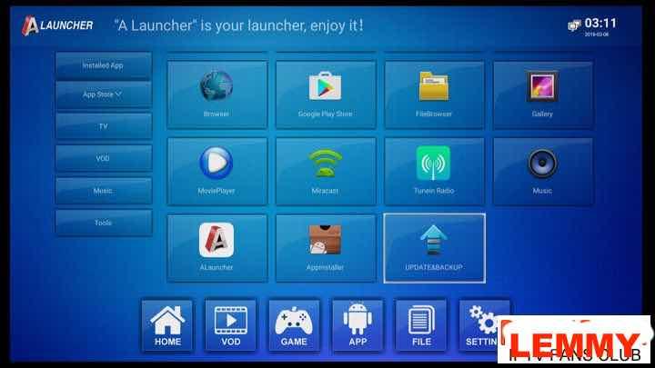 Anmax IPTV box(Anmax X9Pro/X10) software update