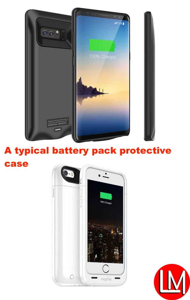 right:best phones protective cases-battery pack case