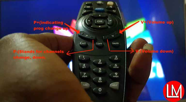 use DStv remote control to solve software problems