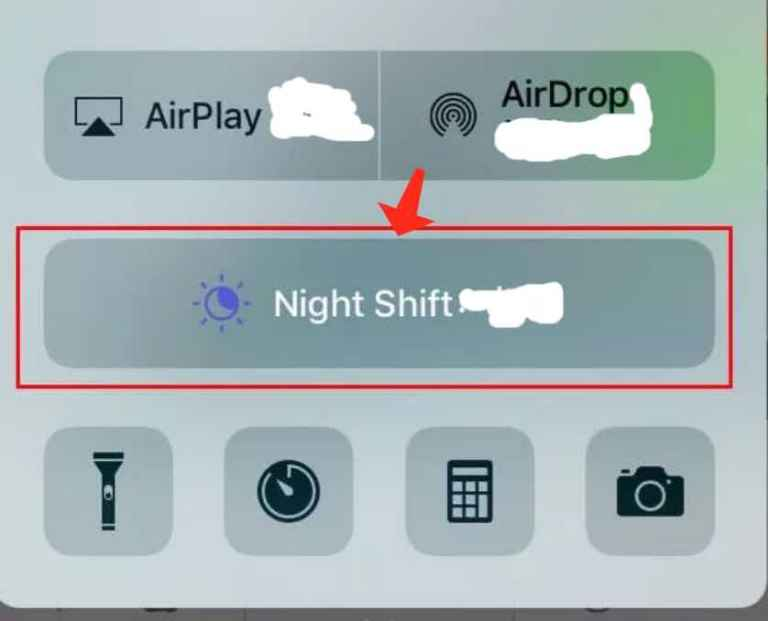 Apples's Night Shift feature