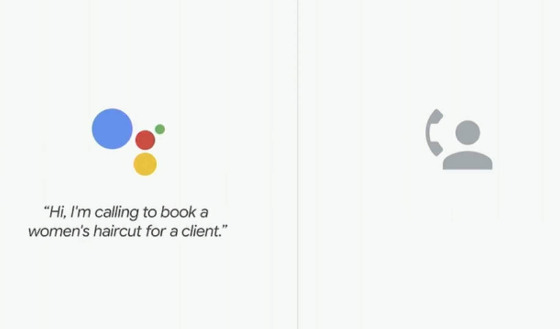 Google Duplex: An Artificial intelligence that talks like a man, is this ethical?