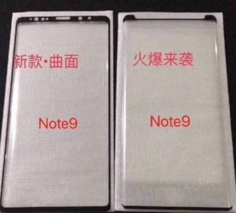 Latest Samsung note9 leaks