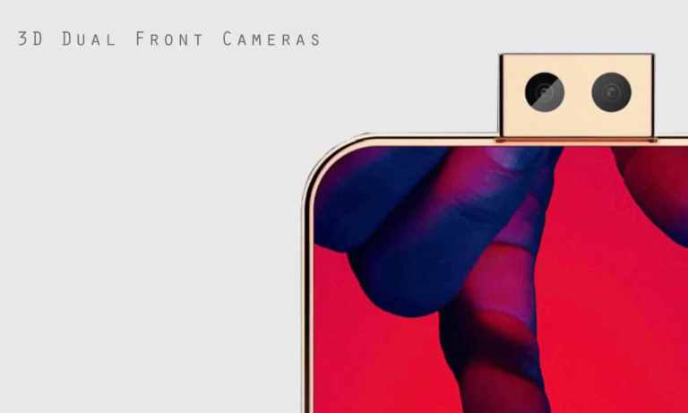 Huawei P30 3D Dual front Cameras