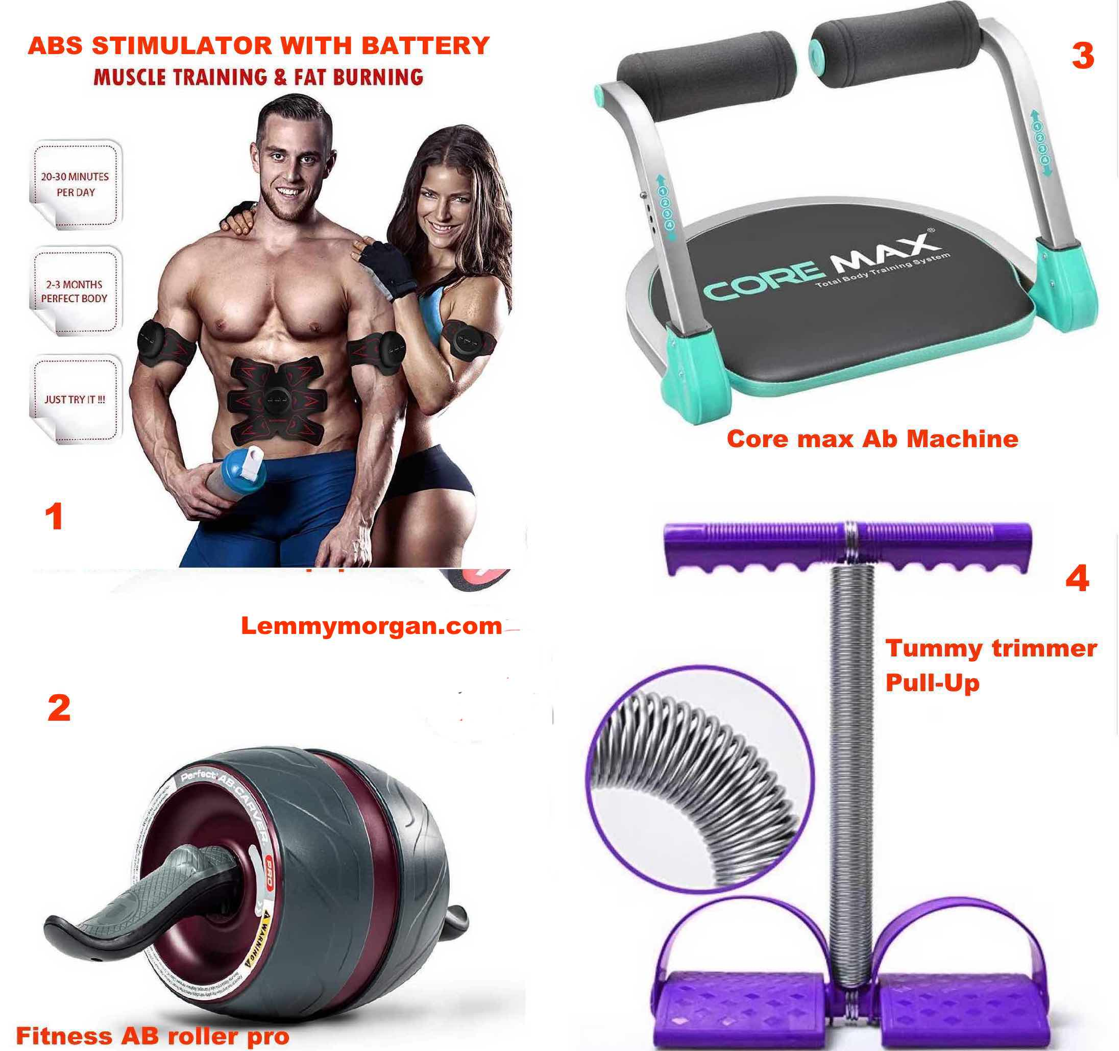 4 Effective Fitness Equipment That you can use to build Your 6-Packs or  Burn Your Belly fat