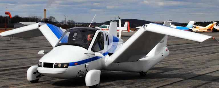 Geely's first flying car the wings