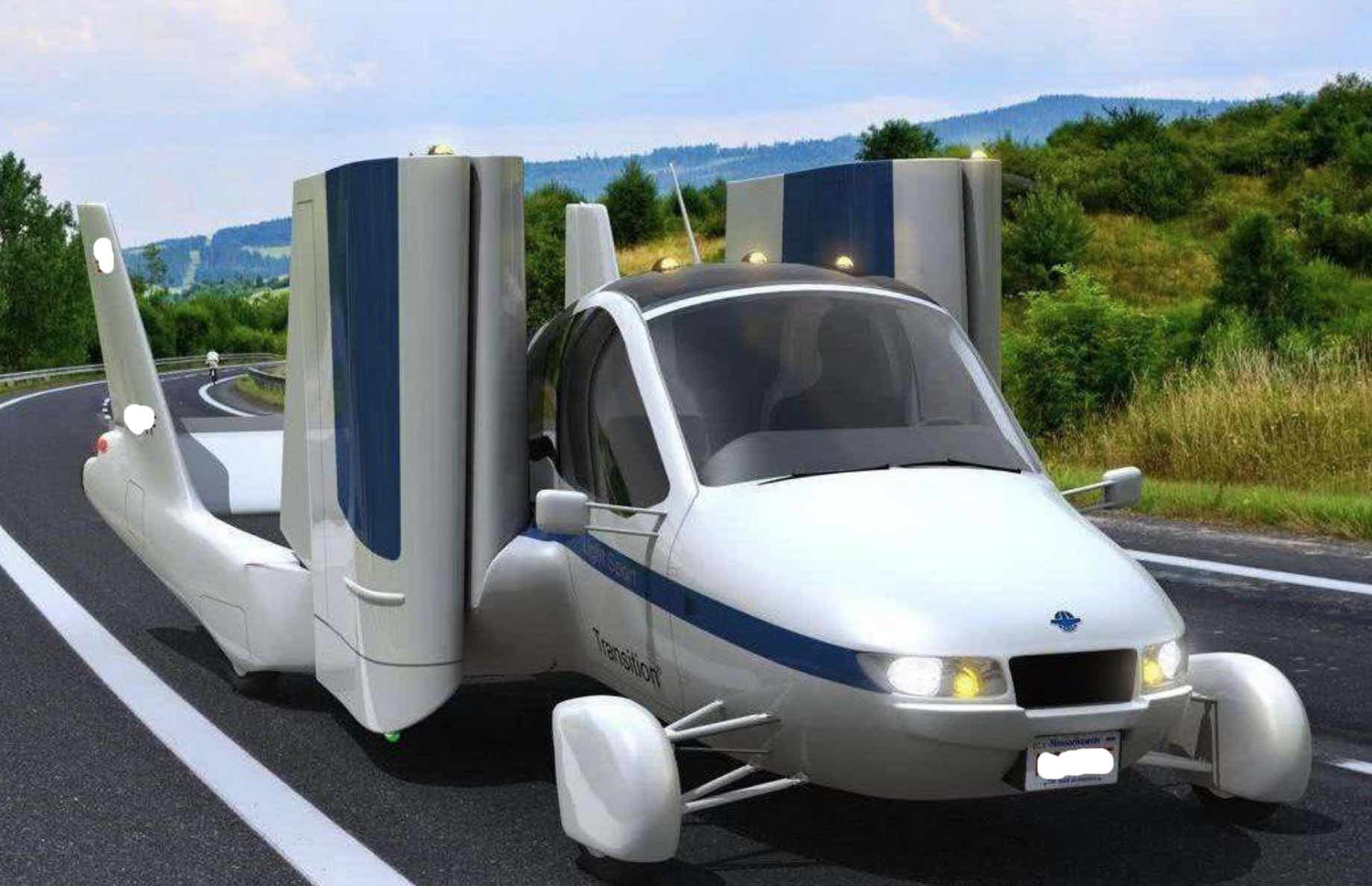 Geely's first flying car with hybrid engine & parachute system will be put in production next year