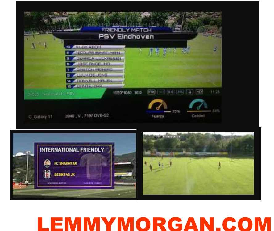International Football Free to air satellite feeds updates-06/07/2018 to 14th of July, 2018