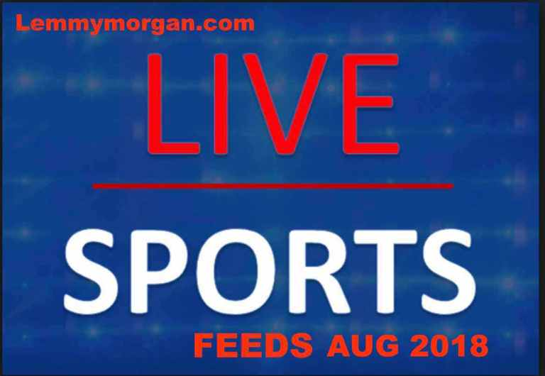 Live sports feeds August 2018