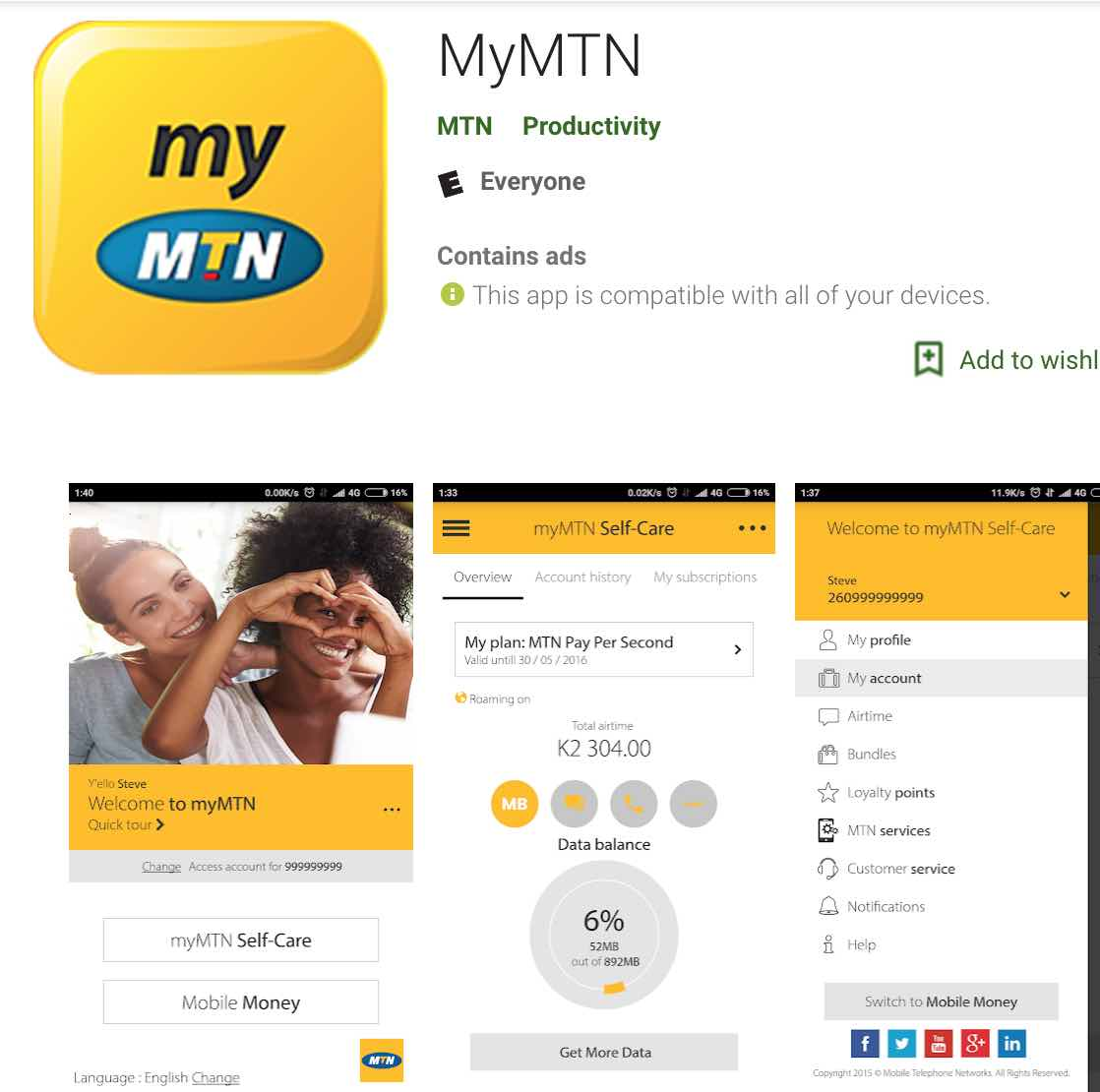 MyMTN App free data promo: Get 755MB absoltuley free and this is how