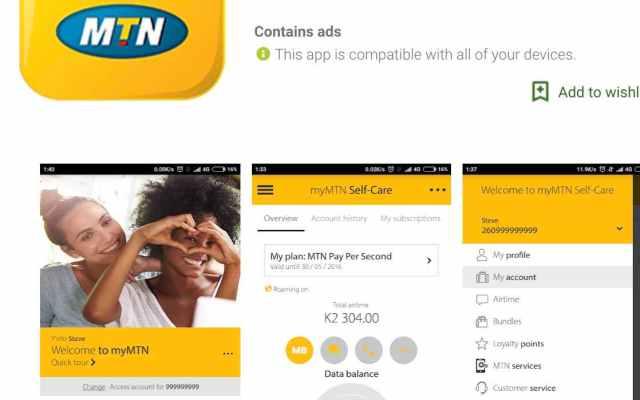 MyMTN App free data