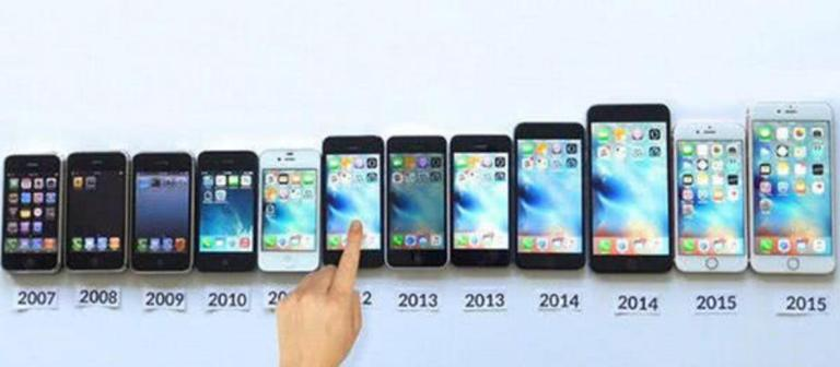iPhone release timeline from 2007