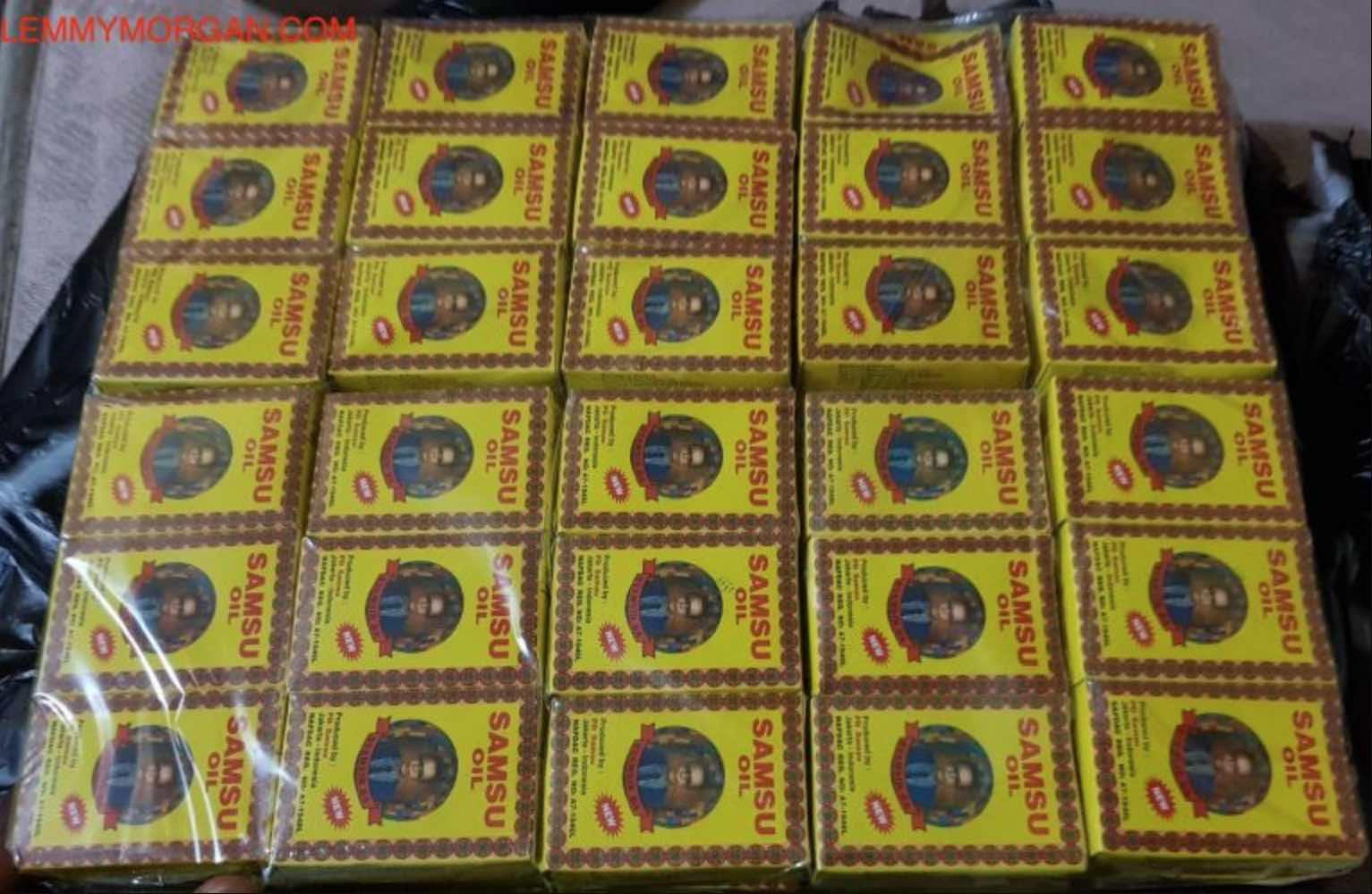 Where to Buy Original Samsu oil in and Outside Nigeria + See latest pictures of Samsu Oil original