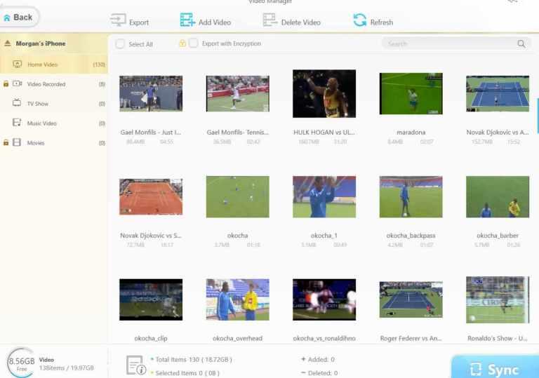 WinX MediaTrans_Video Manager