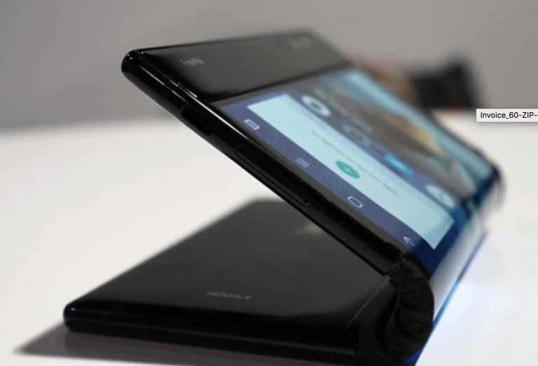Folding flexible screen phones in 2019